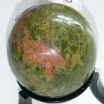 UNAKITE CRYSTAL SPHERE APPROX 40MM L&L-14 @SOLD@